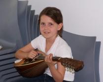 Mitspielerin des Jugendorchesters